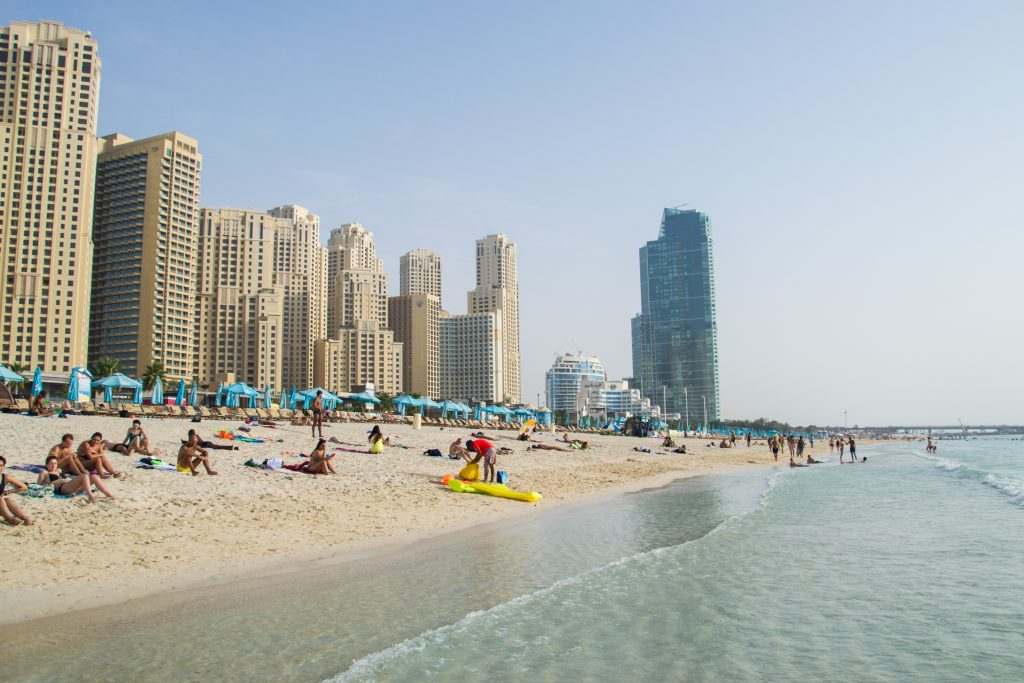 JBR Beach - The Walk Plan Out Dubai Blog
