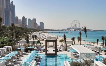 Drift beach club plan out dubai