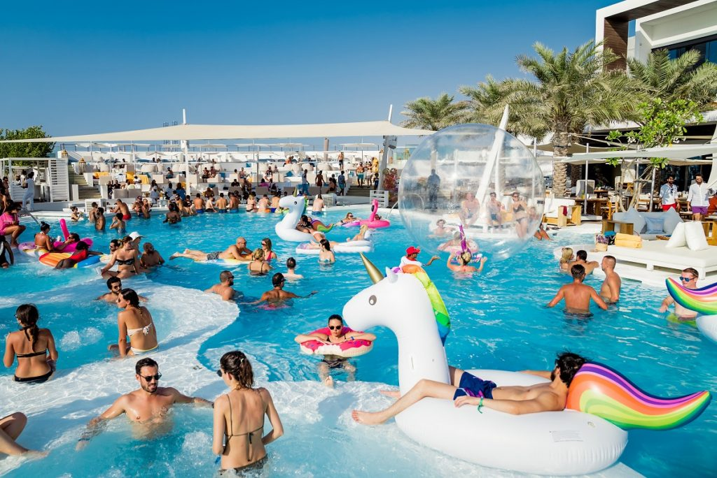 Nikki beach club blog plan out dubai