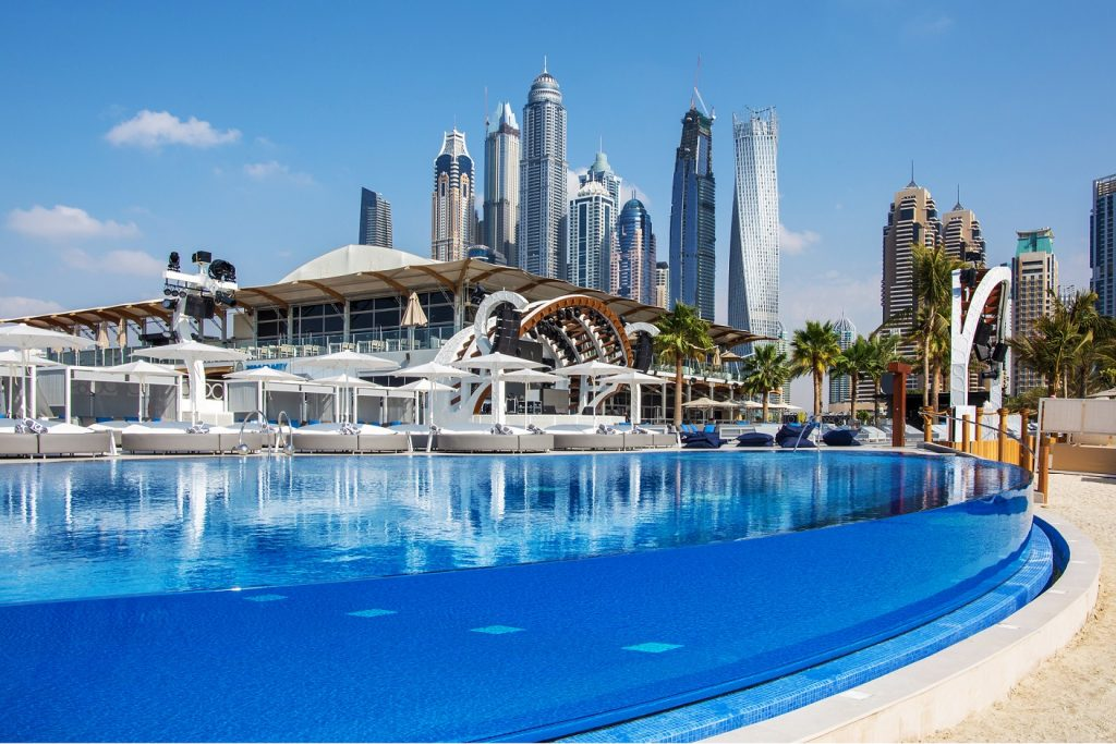 Zero Gravity pool party PlanOut Dubai